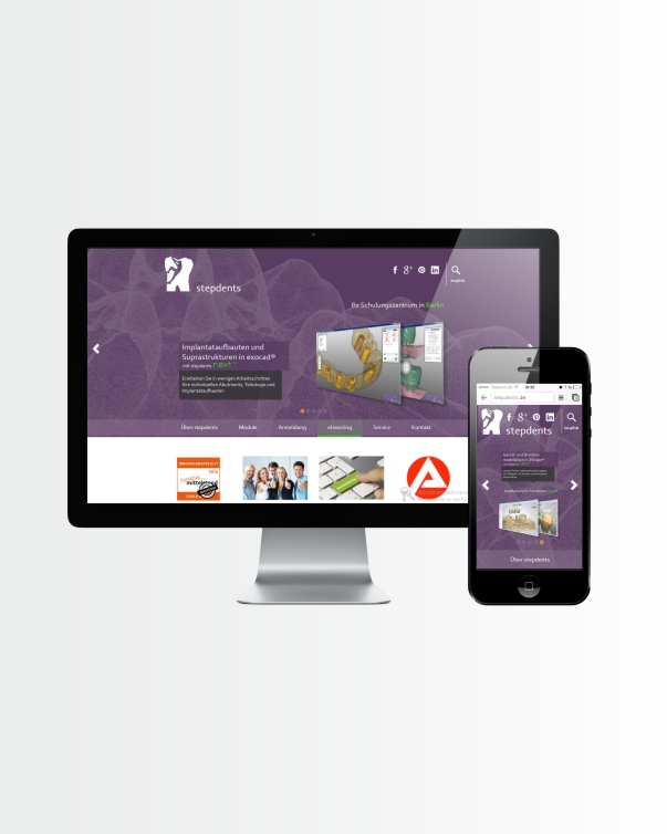 Stepdents - Website